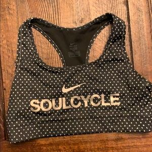 Nike for Soulcycle sports bra - size S
